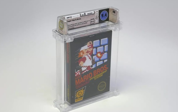 Копію першої гри Super Mario продали за $100 150