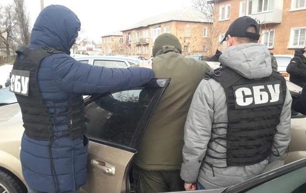 СБУ затримала за хабар майора Нацгвардії