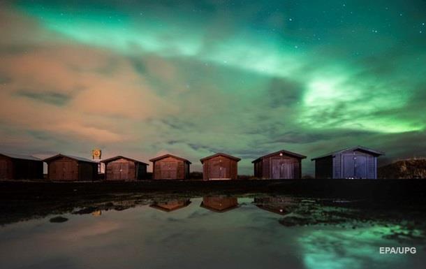 В небе над Лапландией сняли северное сияние