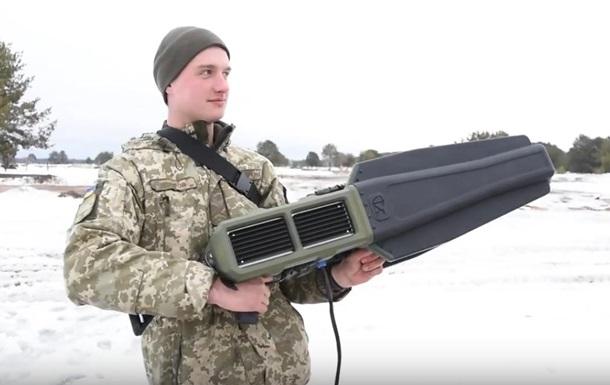 Украинские военные испытывают  глушилку  дронов