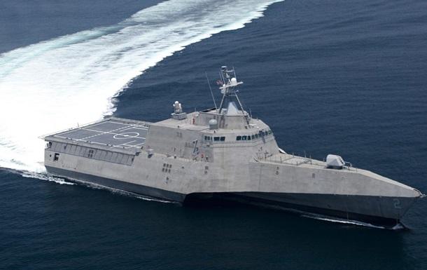 Корабль-невидимка пополнил флот США