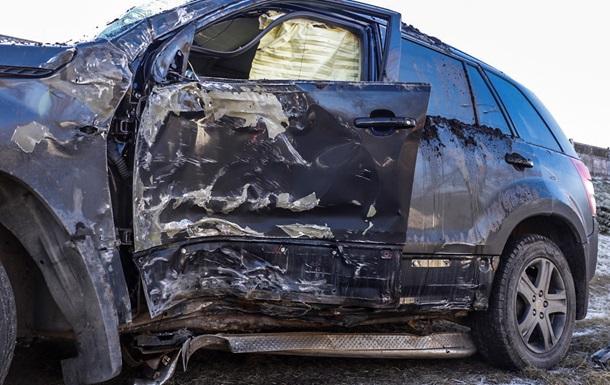 В Киеве случилось массовое ДТП: двое пострадавших