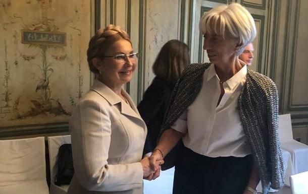 Тимошенко заявила, что договаривается с МВФ о новой цене на газ