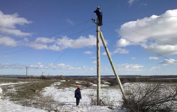 На Луганщині відновили електропостачання після обстрілу