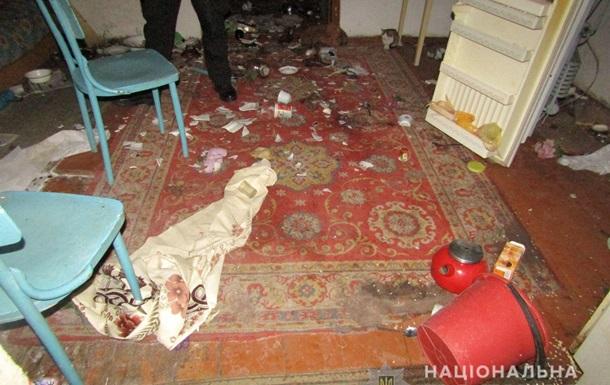 У Житомирській області жінка з ножем напала на поліцейського