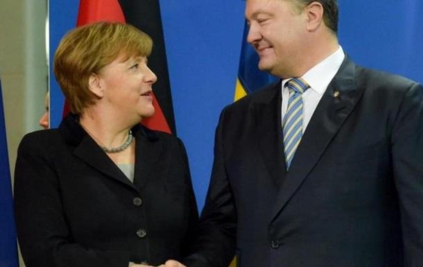 Встреча Порошенко и Меркель: Европа устала от украинской темы