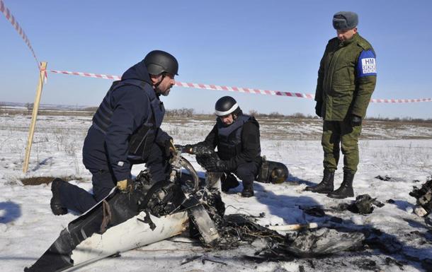 Сепаратисты  ЛНР  вернули ОБСЕ обломки их беспилотника