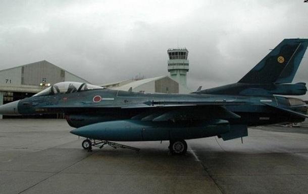 В Японии разбился истребитель-бомбардировщик