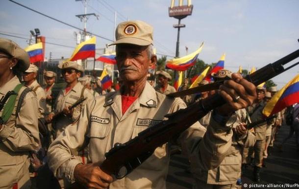 Армия Венесуэлы приведена в боевую готовность