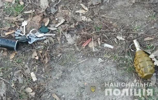 У магазина в Херсоне обнаружили гранату