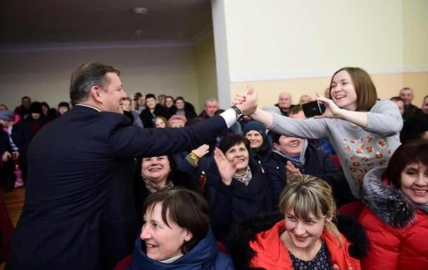 Все больше регионов Украины поддерживают Олега Ляшко