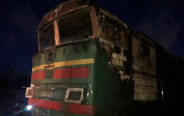 На Донбассе горел поезд с серной кислотой