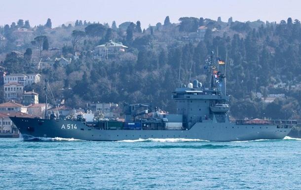 Кораблі НАТО проведуть навчання в Чорному морі