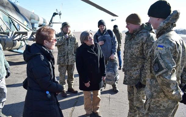 Делегация из США посетила Донбасс