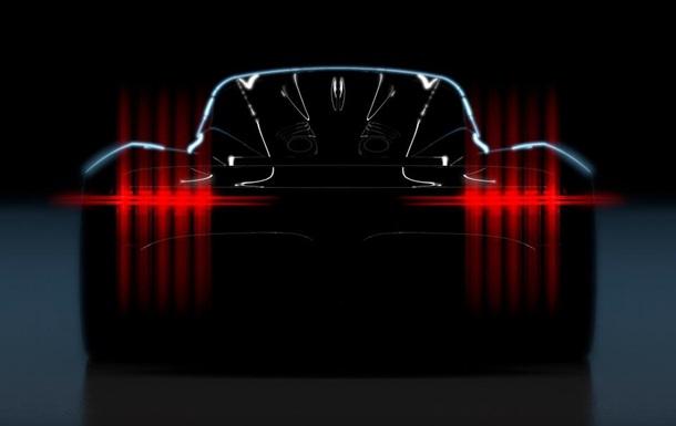 Aston Martin показал тизер гиперкара Project 003