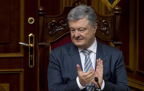 Порошенко указал в декларации новые 15 млн грн дохода