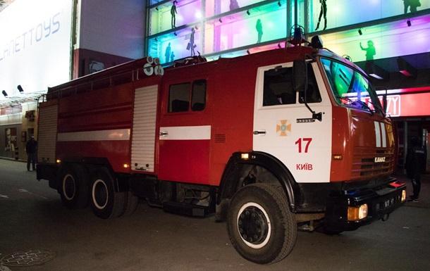 В Киеве горел крупный торговый центр