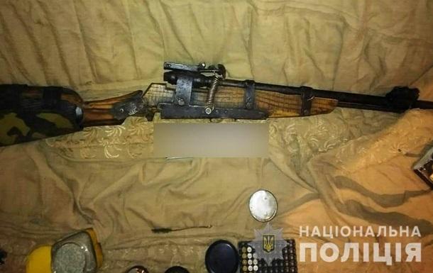 На Киевщине мужчина изготавливал оружие для обороны села