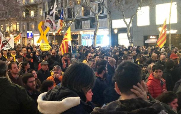 У Каталонії проходить масштабний мітинг протесту