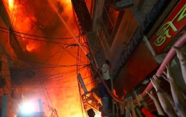 Пожежа в Бангладеш: кількість загиблих зросла до 110 осіб