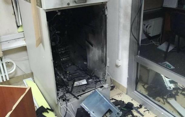 В Харькове взорвали два банкомата