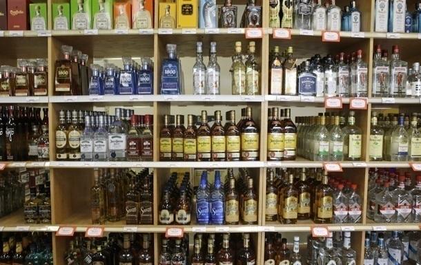 Производство водки в Украине сократилось на треть за четыре года