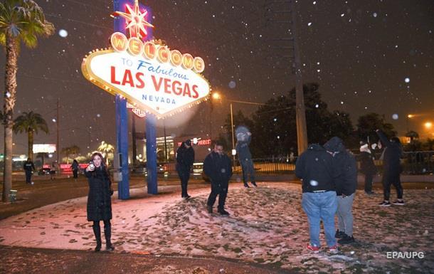 Лос-Анджелес і Лас-Вегас замело снігом