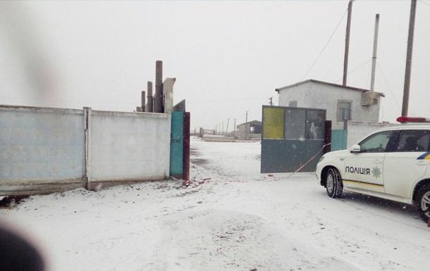В Николаевской области пытались сжечь асфальтный завод