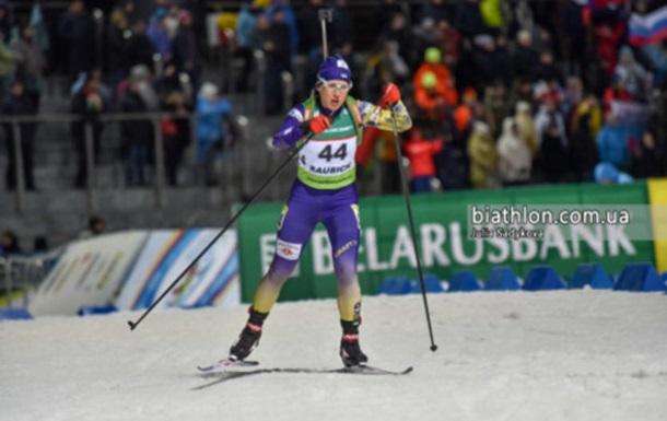 Меркушина стала восьмою у спринті на чемпіонаті Європи