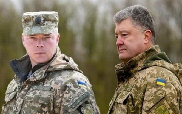 Как Наев агитирует за Порошенко в стиле генерала Бурдуна из «Дня выборов»