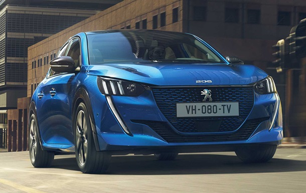Компания Peugeot представила электрическую версию Peugeot 208