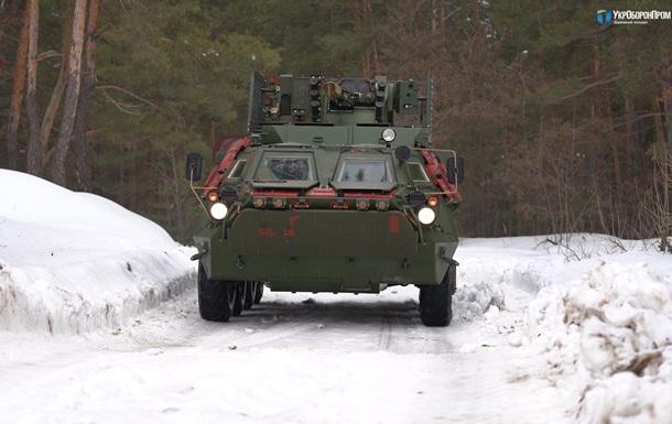 В Украине завершаются испытания обновленного БТР-4