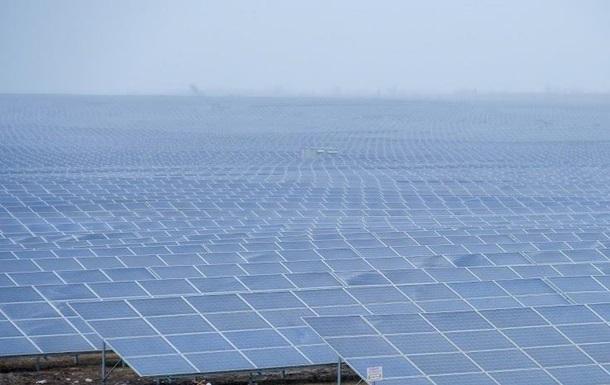В Україні запрацювала найбільша сонячна електростанція
