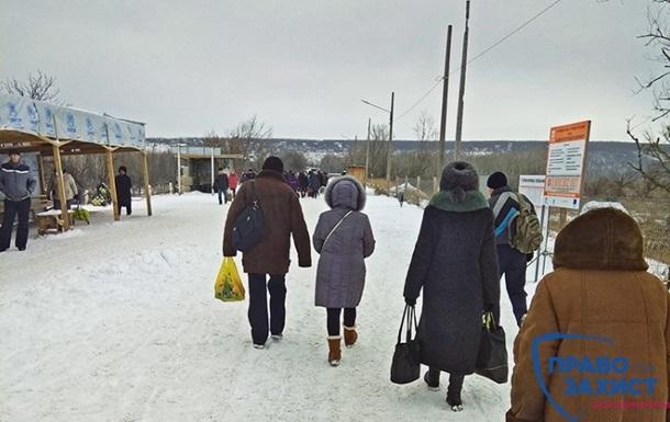 На КПВВ Станица Луганская умер пенсионер