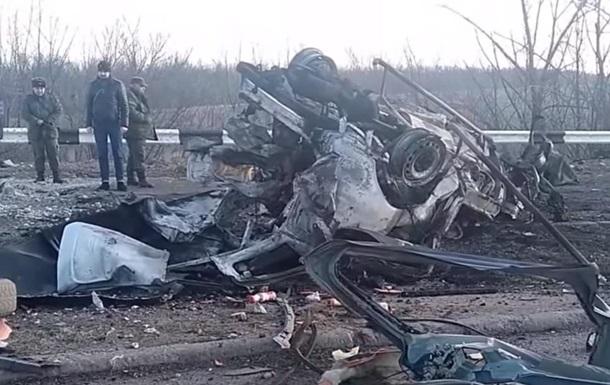 В ОБСЕ рассказали о подрыве микроавтобуса в  ДНР