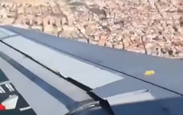 Екстремальний вітер не дав літаку приземлитися