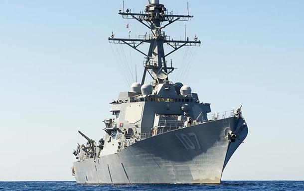 Американский эсминец с крылатыми ракетами зашел в Балтийское море
