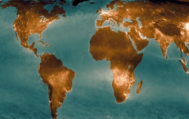 Загрязненность воздуха Земли показали на карте