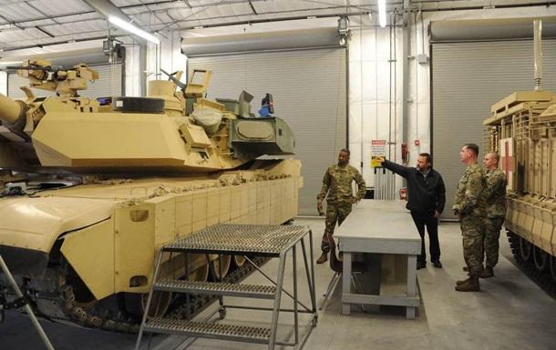 В США показали новый танк Abrams
