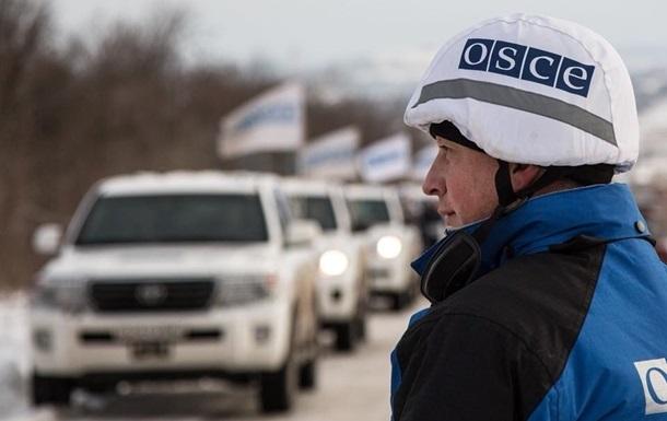 Наблюдатели ОБСЕ попали под обстрел на Луганщине