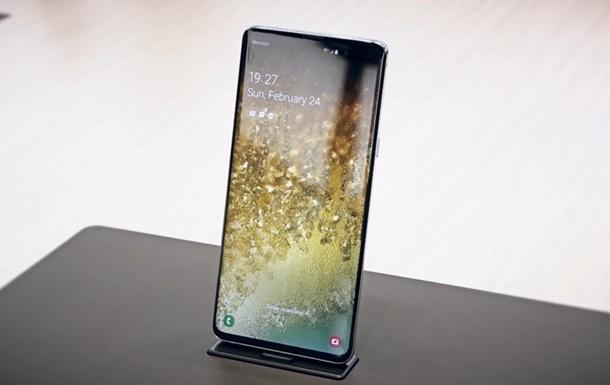 Galaxy S10 с 5G: видео