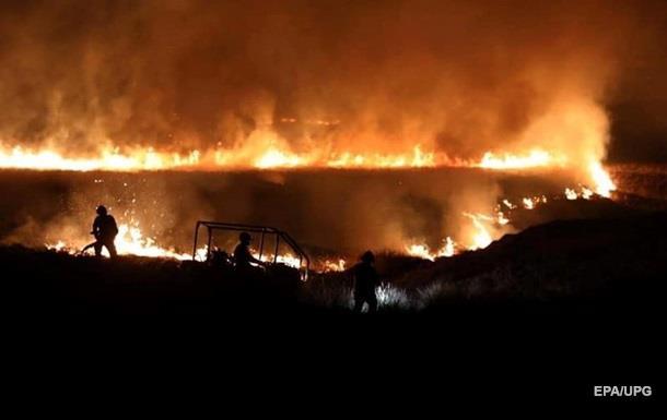 В Британии вспыхнули масштабные лесные пожары