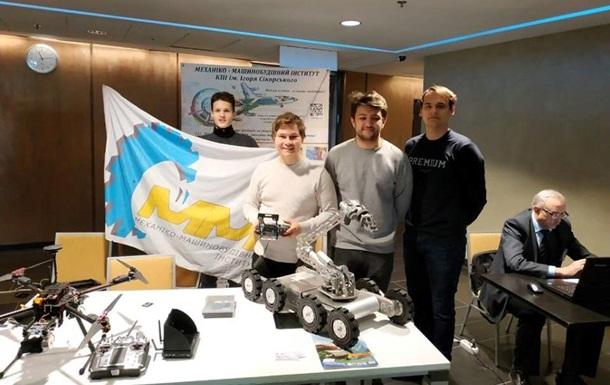 Водород вместо бензина и марсоход: инженеры-изобретатели Киевского политеха поражают разработками