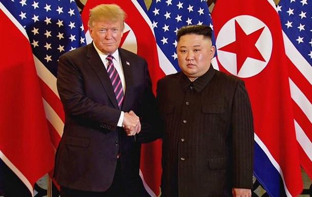 Трамп провів  чудову  зустріч з Кім Чен Ином