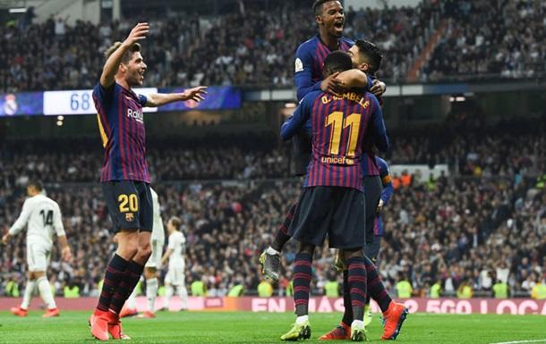 Барселона в Мадриде разгромила Реал и вышла в финал Кубка Испании