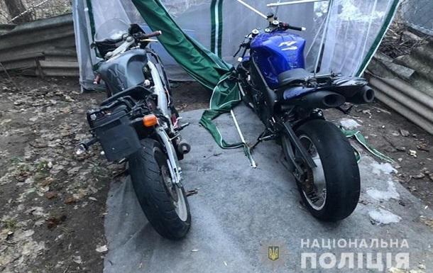 У Києві затримали викрадачів мотоциклів