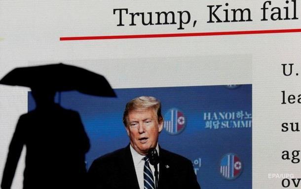 Саміт з Кім Чен Ином став ударом для Трампа - FT