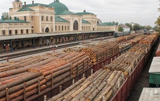 Экспорт украинского леса в Европу: кругляк под видом «дров»