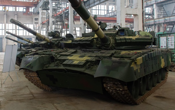 В Украине показали модернизированный танк Т-80