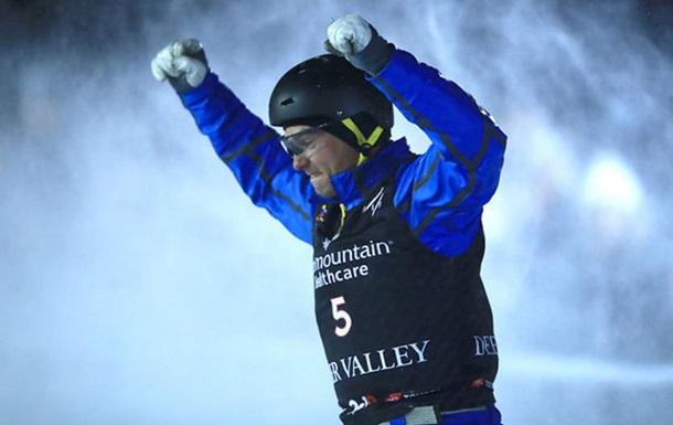 Абраменко в третий раз признан лучшим спортсменом месяца в Украине